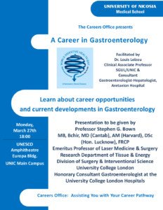 A Career in Gastroenterology - Medical School - University
